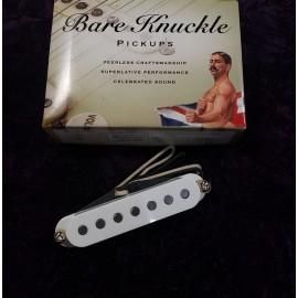 Bare Knuckle Pickups Trilogy Suite 7 Neck Pickup (White, Flat Magnet Profile)