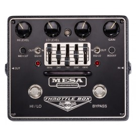 Mesa/Boogie Throttle Box EQ + Distortion Pedal