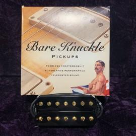 Bare Knuckle Painkiller 7 Bridge Open Black (Gold Screw)