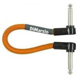"DiMarzio 6"" Jumper Instrument Cable EP17J06 (Neon Orange)"