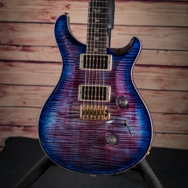 PRS Custom 24 Violet Blue Burst 10 Top Flame (2019 Model)