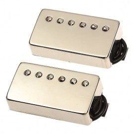 "Bare Knuckle ""Brute Force"" 6 String Humbucker Pickup Set (Nickel Covered) - Boot Camp Series"