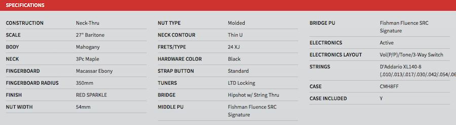 SC608B RS Spec Sheet