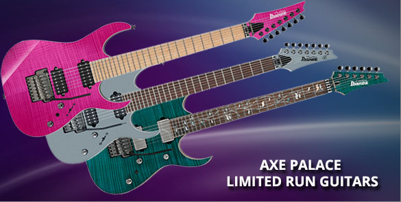 Axe Palace Limited Run Guitars